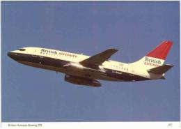 Thème - Transport - Avion - Ed. Skilton  N° 427 - British Airways Boeing 737 - 1946-....: Moderne