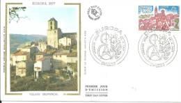 Paris 23.4.1977 Europa - FDC