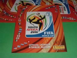 South Africa 2010 Fifa World Cup-album Vuoto+6 Figurine All'interno In Omaggio Panini Sticker Calciatori LOTT 5 - Italienische Ausgabe