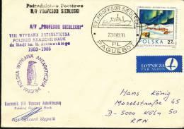 "ANTARCTIC.POLEN,Expedition 1983/85 Mit MRV "" PROFESSOR SIEDLECKI "" , Signiert !! - Poolfilatelie"