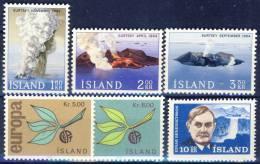 #C1135. Iceland 1965. Michel 392-97. MNH(**). - Islande