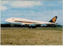Thème - Transport - Avion - Moskal N° 15 - Boeing 747-312 - Singapore Airlines - 1946-....: Moderne