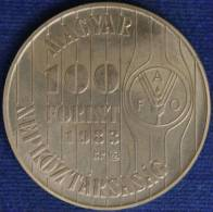 Ungheria Hungary 100 Forint 1983 KM631 FAO #907A - Hungary