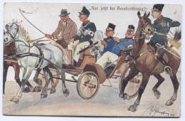 AUSTRIA, HUNGARY - Military, Red Cross, Rotes Kreuz, 1908. Humor - Humour