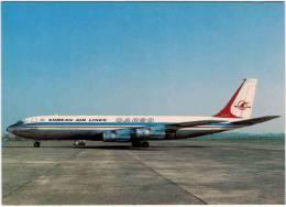 Thème - Transport - Avion - Moskal N° 91 - Boeing 707 321C - Korean Air Lines Cargo - 1946-....: Moderne