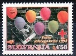 K19 Slowenien Slovenia Slovenie 1994 ** MNH - Rotes Kreuz - Red Cross - Croix Rouge - Slovenia