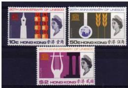Hong Kong - 1966 - 20th Anniversary Of UNESCO - MH - Neufs