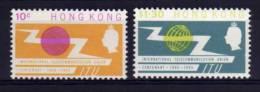 Hong Kong - 1965 - Centenary Of ITU - MH - Neufs