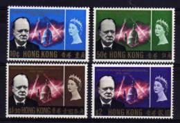Hong Kong - 1966 - Churchill Commemoration - MH - Neufs