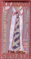 CRAVAT & Croatia  - Homeland Of The Cravat  # 3. ( Croatia MNH** ) Cravate Corbata Kravatte Cravatta Gravata Cravats - Textile
