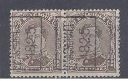 """BELGIE - Preo Nr 3416 A  (paar/paire) - """"BRASSCHAET 1925"""" (ref. 2437) - ROLLER PRECANCELS - Handrol Preo´s Roulette - Préoblitérés"""