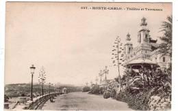 MONACO/MONTE-CARLO/Théâtr E  Et Terrasses/Ref:480 - Monaco