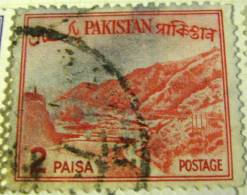 Pakistan 1961 Khyber Pass 2p - Used - Pakistan
