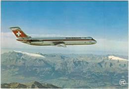 Thème - Transport - Avion - PI N°318 - DC 9 51 De La Swissair - 1946-....: Modern Era