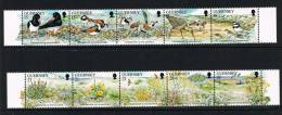 GUERNESEY  VOGELS EN NATUUR  1991 ** - Oiseaux