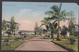 Costa Rica San Jose C. R. Plaza Espana Spanisher Platz 1932 Nach Dresden Alemania - Costa Rica