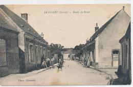 72 // LE LUART  Route De Boueer   ANIMEE   LHERMIER EDIT  ** - France