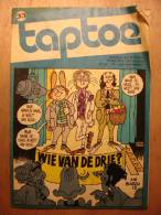 REVUE ENFANT En NEERLANDAIS - TAPTOE N°33 - AVRIL 1974 - JAN VAN DER VOO - JULES VERNE - NADAUD BROCHARD - JOGI BEER - Revues & Journaux