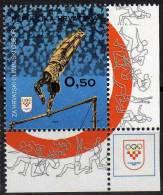 Barre Fixe- Croatie Z47 NMH- Centenaire Du Comité International Olympique - Gymnastiek