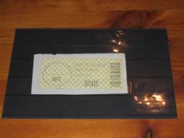 ATM Automatenmarken Label Used 0 Gestempelt Austria Österreich 2000 Ramsau Am Dachstein 8972 - Abarten & Kuriositäten