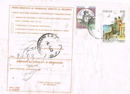 605-Italia Storia Postale Tariffa Ridotta Al Mittente19.12.92 Palermo/Agrigento £. 1.000 + £. 850 Celebrazioni Colombian - 6. 1946-.. Repubblica
