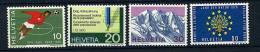 Suisse ** N° 864 à 867 - Timbres De Propagande (foot) - Neufs