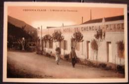 Cpa ALGERIE - CHENOUA PLAGE - L´ Hôtel Et Le Chenoua - Other Cities