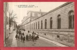 LA ROCHELLE - Le Lycée  Façade Principale Extérieure - La Rochelle