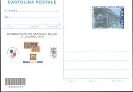 INTERO POSTALE MILANEXPO MAN.FIL. NAZ. MILANO COLONNE SAN LORENZO 2009 - EURO 0,60 CATALOGO FILAGRANO C262 – NUOVA ** - Postwaardestukken