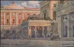L4199 Padova, Cartolina Illustrata Da A. Dal Pra: Piazzetta Pedrocchi E Camera Di Commercio E Industria - Padova