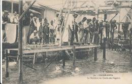 G G 837/ C P A - MAROC-- CASABLANCA   LA NATATION AU CERCLE DES NAGEURS - Casablanca