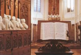 SLOVENIA, KARTUZIJA PLETERJE, CHARTUSIAN MONASTERY PLETERJE, PRAYING MONKS, EX Cond. PC Unused 1970s - Slovenia