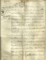 """CACHET GENERALITE """"PROVENCE"""" 1787 - JUGEMENT S/ VELIN Entre BOURGEOIS Du CASTELLET Et Création COMMUNAUTE DE PUYMICHEL - Seals Of Generality"""