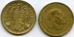 Espagne Spain 1 Peseta 1966 *74 KM 796 - [ 5] 1949-… : Royaume