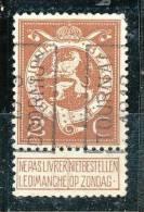 Préos Roulette N° 2241 Type A De 1913,  TOURNAI - Vorfrankiert