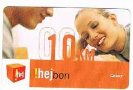 BOSNIA - ERONET  (RECHARGE) -  HEJBON 10: COUPLE  EXP.7 - 09   - USED   -  RIF. 3040 - Bosnia