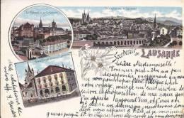 Souvenir De Lausanne En 1897 - VD Vaud
