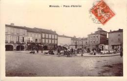 32 - Mirande - Place D'Astarac (marché) - Mirande