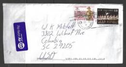 2011 - (12 Jul 11) New Zealand Post To South Carolina USA