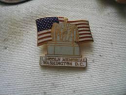 Pin´s Du Mémorial LINCOLN à WASHINGTOWN D.C. - Militaria