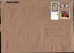 Italia 2009 - Busta Viaggiata Con 3 Francobolli - Prioritario 4,13 / Cover With 3 Stamps - 2001-10: Storia Postale