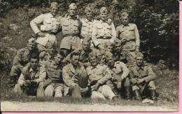PHOTOGRAPHY - SOLIDERS, 14 X 9 Cm, Yugoslavia - Guerre, Militaire