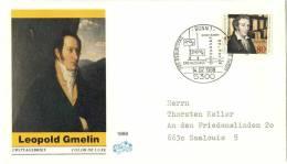 Chimie, Ferrocyanure De Potassium, Gmelin: Env. 1er Joour D'Allemagne, 1988 - Chemistry, FDC From Germany. Glass - Química