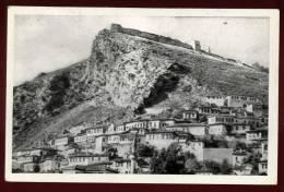 Cpa Albanie Berat Festung Und Stadt ; Steht Unter Denkmalschutz  PLOZ12 - Albania