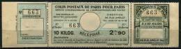 Colis Postaux De Paris Pour Paris, N° 141(*) Dallay / Maury - Mint/Hinged