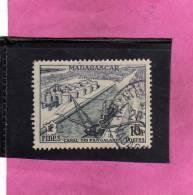 MADAGASCAR MALGACHE 1956 CANAL DES PANGALANES USED - Non Classificati