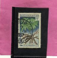 MADAGASCAR MALGACHE 1957 LE MANIOC - LA MANIOCA USED - Non Classificati