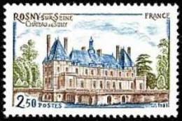 France N° 2135 ** Architecture - Château De Sully à Rosny-sur-Seine - France