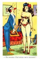 Pedro Segui - Oui Monsieur, Il Faut Encore Me Le Raccourcir - Künstlerkarten