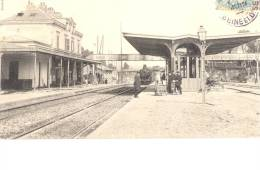 Brunoy - Intérieur De La Gare Avec Train - Animation - Brunoy